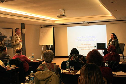 Teaching homeopathy in Istanbul