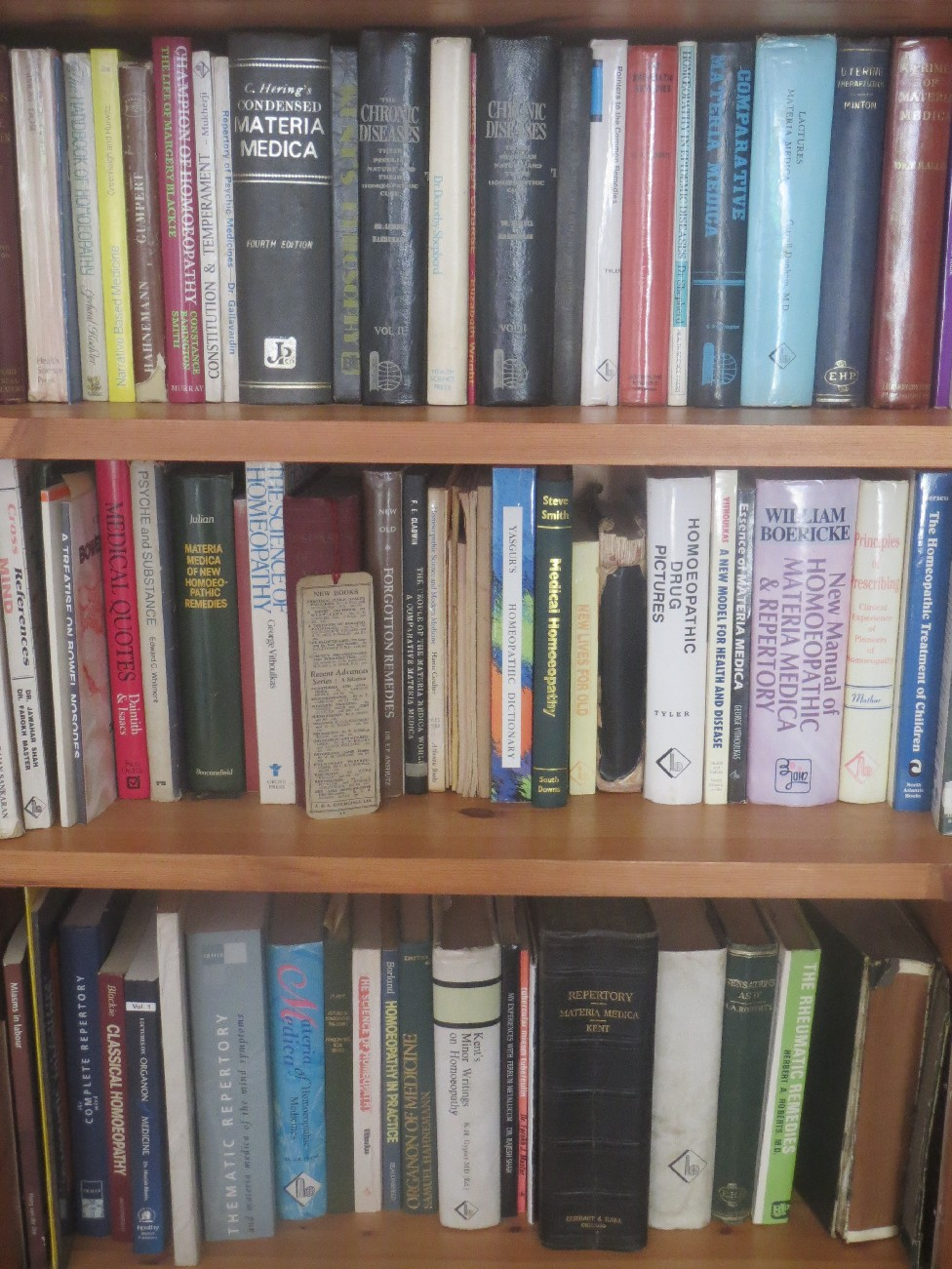 Picture of Homeopathy Books
